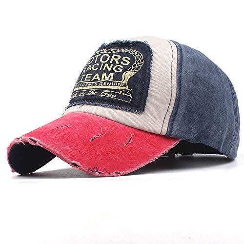 7 1/4 Ausgestattet Cap Hut (QQYZ Mütze Baseball Cap Ausgestattet Hut Casual Cap Gorras 5 Panel Hip Hop Snapback Hüte Wash Cap Für Männer Frauen Unisex 56 bis 60cm durchsichtig)