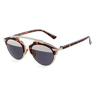 ADEWU Damen Sonnenbrille Black&Orange