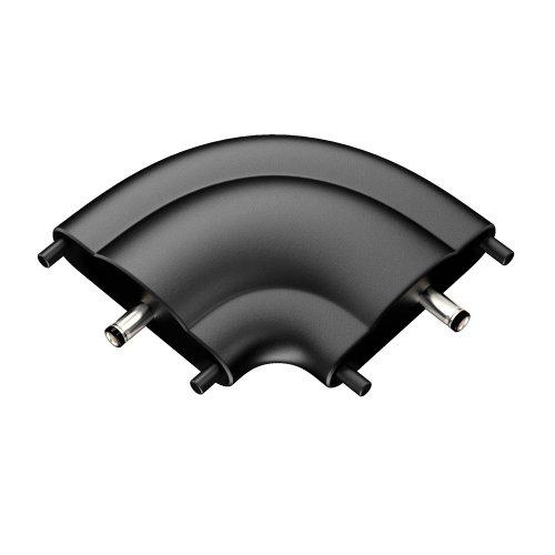 parlat 90° Eckverbinder für flache 24V LED-Unterbauleuchten