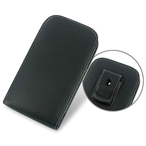 PDair Handarbeit Leder Hülle - Leather Vertical Pouch Belt Clip Case for Samsung Galaxy Grand Neo GT-i9060
