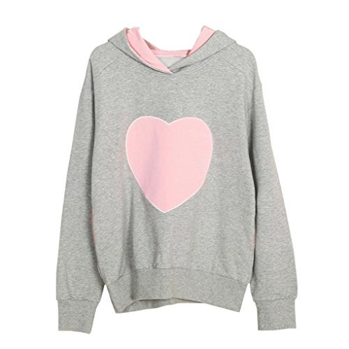 Mama Baby Outfits Passende Und Für (Upxiang Mutter & Tochter Kleidung Heart-Shaped Hoodie Sweatshirt Mutter Baby Girl/Boy Familie Passenden Outfit (Rosa/Mutter, L))