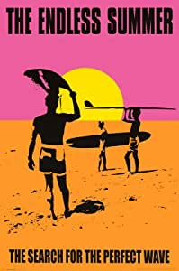 Affiche 'The Endless Summer', Taille: 61 x 91 cm