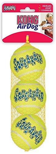 KONG AIR SQUEAKAIR TENNIS BALL 3ST - size M (Kong Ball Hundespielzeug)