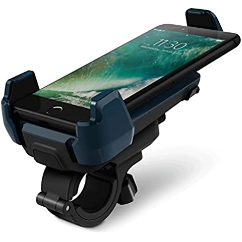 iOttie Active Edge para bicicleta y soporte para barra para iPhone 6/6 plus/5/5S/5C/4S - azul
