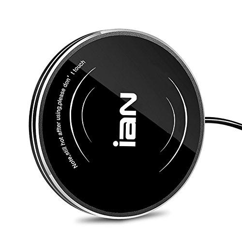 Escritorio USB placa de aislamiento de calor Calentador Calentador de café té taza calentador eléctrico calentador de bebidas para uso en interiores & al aire libre hogar oficina Camping (El negro)