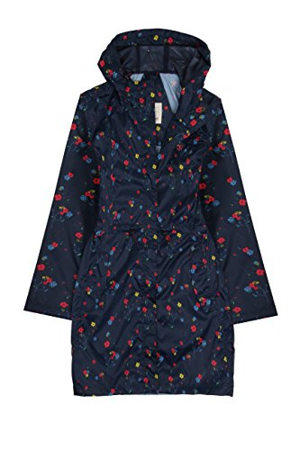 Lighthouse Cara Damen regen Parka Night Sky Blumendruck