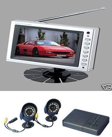 j2da-2externe CCTV Kameras & 2Wege SD-DVR Kit Dvr Card Kit