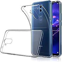 Simpeak Funda Compatible Huawei Mate 20 Lite, Funda Transparente Huawei Mate 20 Lite Carcasa Huawei Mate 20 Lite Silicona TPU Case