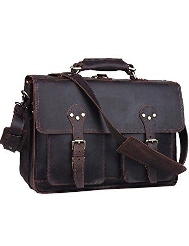 Menschwear-Mens-Genuine-Leather-Outdoor-Crossbody-Bag-42cm