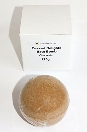 t Delights Bath Bomb - Chocolate : 1 x 175g Round by Bee Beautiful ()