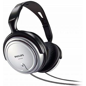 Philips SHP2500/97 Over-Ear TV Headphone (Silver)