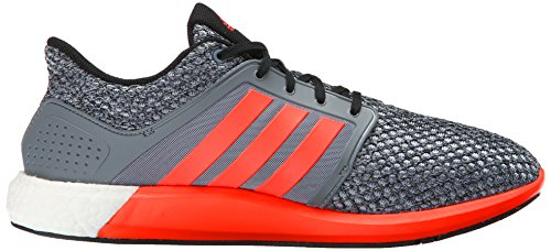 Adidas Performance Solar Boost M Running Shoe, Collegiate Navy / blanc / collégiale Royal, 4 M Us Grey/Solar Red/Black
