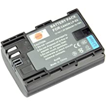 DSTE® LP-E6 Li-ion Batería para Canon EOS 5D Mark II, EOS 5D Mark III, EOS 5DS, EOS 6D, EOS 7D, EOS 60D, EOS 60Da, EOS 70D