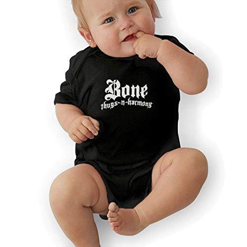 Mädchen Thug Kostüm - fenglinghua Babybody Summer Baby Romper Toddler Bodysuit Jumpsuit Bone Thugs N Harmony Graphic Short-Sleeve Bodysuits