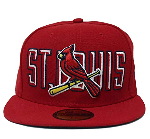 100% authentic 0cc25 204c3 New Era St. Louis Cardinals Bevel Pitch 59FIFTY Fitted MLB Cap (7 1