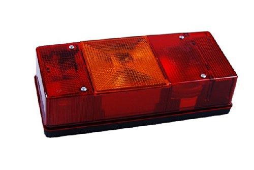Preisvergleich Produktbild Saw Vierkammerleuchte 2201L mit und ohne Lampe links rot