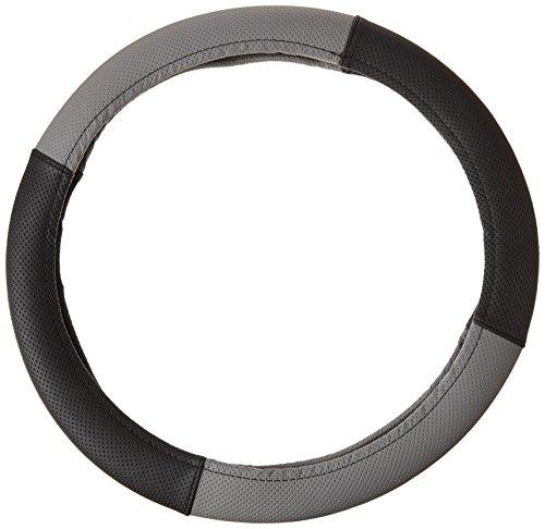 akhan lb25 - Housse de Volant Couvre-Volant Noir Gris pour Tous Les Types de Volant 37 cm de 39 cm