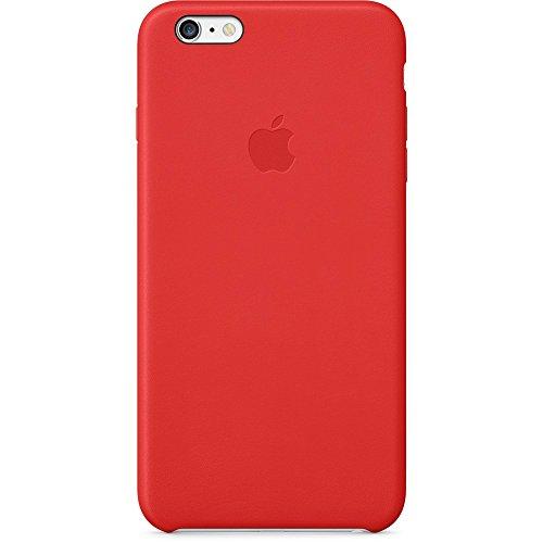Apple mgqy2zm/a custodia in pelle adatta per iphone 6 plus / 6s plus, rosso