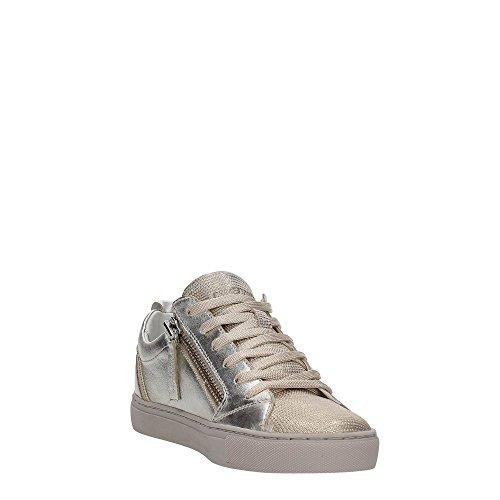 CRIME London Java Lo, Sneakers Basses Femme Or (Platin)
