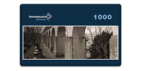 hansepuzzle 68795 Panorama-Puzzle: Aquädukt, 1000 Teile in hochwertiger Kartonbox, Puzzle-Teile in wiederverschliessbarem Beutel. -