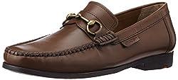 Ruosh Mens Tan Leather Formal Shoes - 9 UK/India (43 EU)