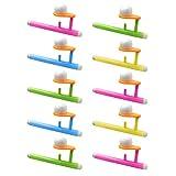 Toyvian 10 Pezzi Palla Che Soffia Giocattolo Giochi di società Puntelli Soffiaggio Schiuma Palla Giocattolo Educativo per Bambini Adulti