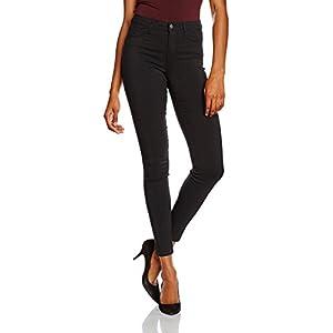 PIECES Damen Pcskin Wear Jeggings Black/Noos Jeanshose