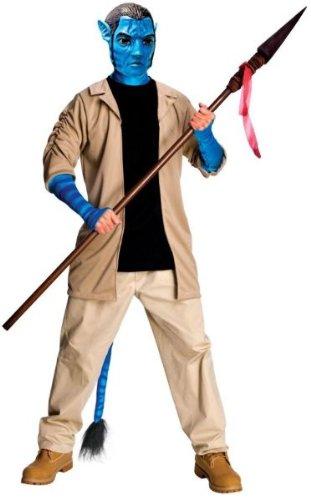 Für Kostüm Erwachsene Sully - Generique - Jake Sully Avatar-Kostüm für Erwachsene M / L