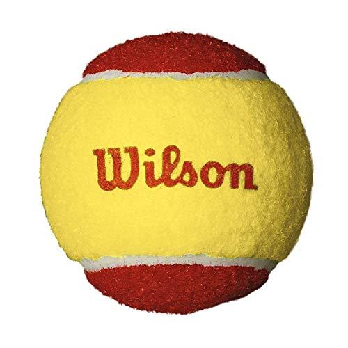 Wilson Kinder Tennisball Starter Easy, 12er Pack, rot/gelb