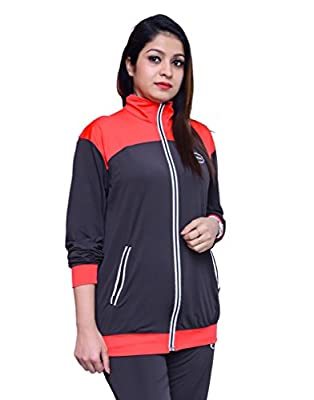 Branded Multicolor Full Sleeve Casual Track Suit for Girl's and Women's