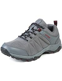 Dannto Zapatos Botas de Senderismo para Hombre Zapatos de Low Rise Trekking ocio al Aire Libre y Deportes Zapatillas de Running