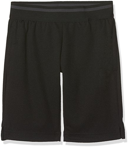 adidas Jungen Training Cool Shorts 1/2, Black/Carbon, 140