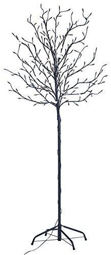 Lunartec LED-Deko-Baum mit 200 beleuchteten Knospen, 150 cm, drinnen & draußen