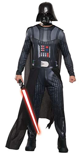 Generique - Star Wars-Darth Vader Kostüm für Halloween und Karneval schwarz ()