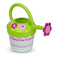 Melissa & Doug Sunny Patch Pretty Petals Flower Watering Can - Pretend Play Toy