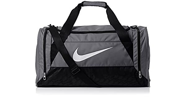 bd06c1739317 Nike Brasilia 6 Duffel Bag - Flint Grey Black White