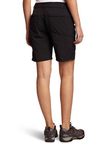 Columbia Hose Silver Ridge Damen Shorts Schwarz (Black)_12
