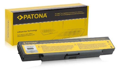 PATONA Batterie pour Laptop / Notebook Sony Vaio VGN-S1HP | VGN-S1-HP | VGN-S1-XP | VGN-S4XP | VGN-S4HP | VGN-S4M/S | VGN-S4VP/B | VGN-S5HP/B.G4 | VGN-S5M/S.G4 | VGN-S5VP/B.G4 | VGN-S5XP/B.G4 | VGN-S16GP | VGN-S18GP | VGN-S46GP/B | VGN-S46GP/S | VGN-S50B | VGN-S52B/S | VGN-S54B/S | VGN-S55B/S | VGN-S55CP/S | VGN-S55C/S | VGN-S56C/B | VGN-S56C/S et bien plus encore... - [ Li-ion; 4400mAh; noir ]