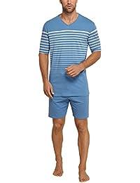 Schiesser Anzug Kurz, Pyjamas Deux-Pièces Homme