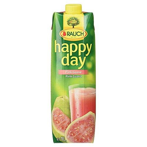 Rauch Happy Day Pink Guave, Guavennektar mit Vitamin C (1 x 1,00 l)