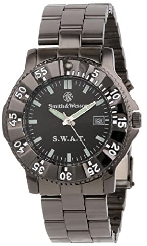Smith and Wesson SWAT Back Glow Watch - Rubber Strap