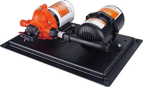 lighteu®, SEAFLO 3.0GPM / 11.3LPM-Pumpe mit integriertem Druckspeicher