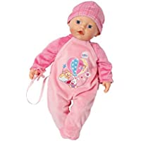 Zapf Creation 822524 - my little Baby born, SuperSoft, rosa