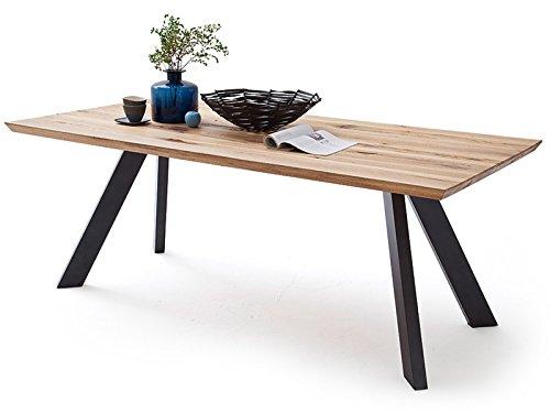 """Esszimmertisch Küchentisch Tisch Esstisch Speisetisch Massivholztisch \""""Milica I\"""" Wildeiche 180x90 cm"""