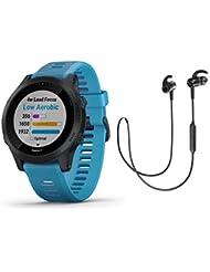 Garmin Forerunner 945 - GPS Multisportuhr/Smartwatch mit Karten und Musik (inkl. Bluetooth Headset, blau)