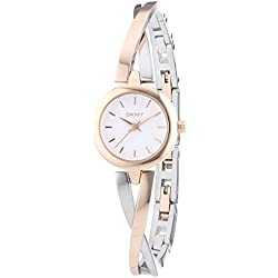 DKNY (DNKY5) Women's Quartz Watch with Multicolour Dial Analogue Display and Multicolour Stainless Steel Bracelet NY2172