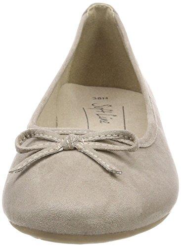 Softline 22164, Ballerine Donna Beige (lt. Taupe)