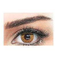 Bella Natural Unisex Cosmetic Contact Lenses - Hazel - [ BL-NAT-HZ Power 0.00]
