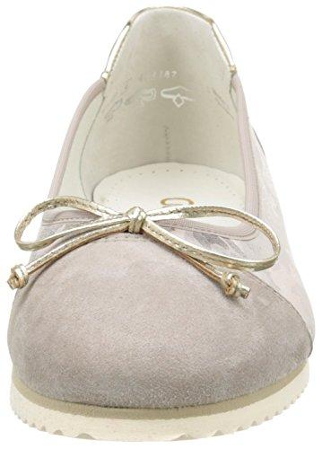 Ballerina 100 12 Nudo Visone Platin Donna Gabor Beige 12 43 qwxET515I