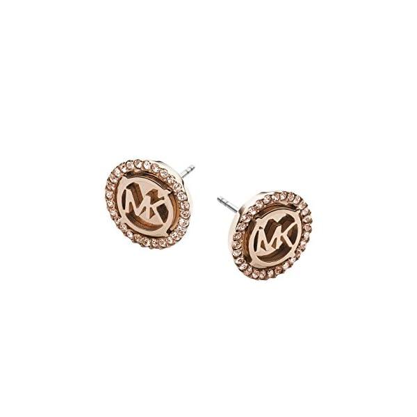 0aafbbb84 Michael Kors Women's Earrings Stainless Steel Pink & Eaigu; Gold MKJ2942791